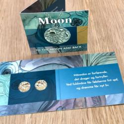 Halskæde Moon med månesten - Forgyldt - 1062fg - 3