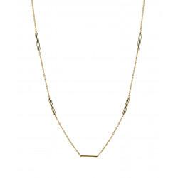 Guld halskæde med stave - 8kt. - 3021125