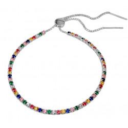 Tennisarmbånd med Multifarvede - Amy - 3746