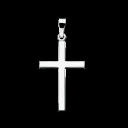 Kors 30 x 20 mm. sølv