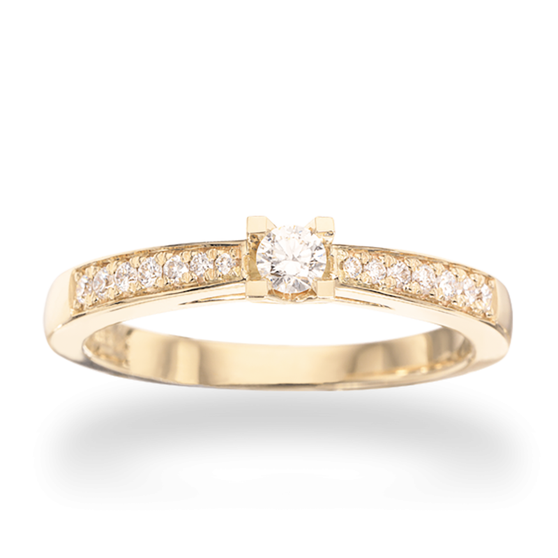 Kleopatra Queen Ring 14 kt. Rødguld - 7535