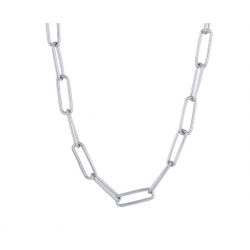Halskæde med lange kædeled - 825 790