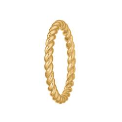 Ring 14 kt. rødguld - Snoet - 1800-G14-06