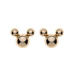 Disney 9 kt. guld kugleørestikker Mickey Mouse  - 60333506