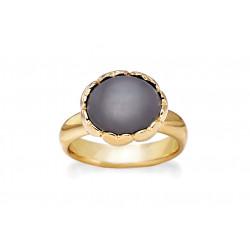 Ring i forgyldt sølv med ferskvandsperle - Affection - 75920354