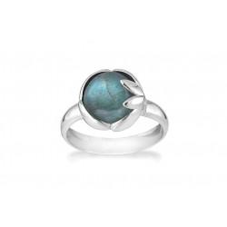 Ring i sølv med labradorit - Arch - 67610334