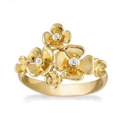 Ring i forgyldt sølv - Marigold - 69820370