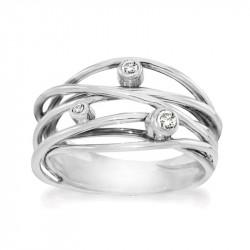 Ring i sølv - Sparkling Dream - 70316325