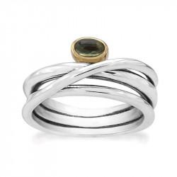 Ring i sølv - Moss - 73817374