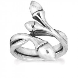 Ring i sølv - Climbing Rose - 72516300 - 1