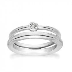 Ring i sølv - Ribbon - 73116325