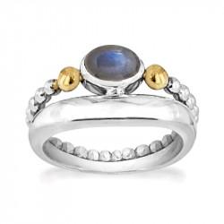 Ring i sølv - Golden Shadow - 72217334