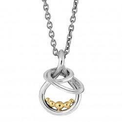 Vedhæng i sølv med Guldkugler - Golden Bubbles - 72417100