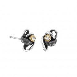 Øreringe i sølv med diamanter - Witch Hazel - 70817550