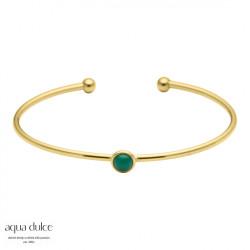 Armring med grøn onyx - 3363 - 1