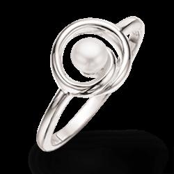 Sølv ring med...