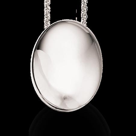 Sølv vedhæng incl. kæde