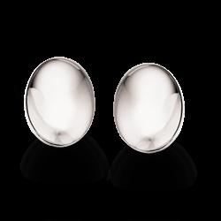 Sølv øreringe