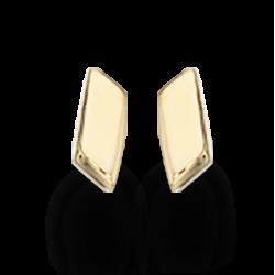 Guld øreringe 8 kt.