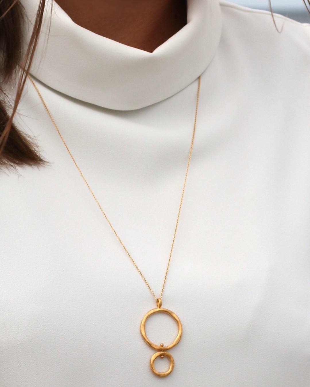 halskæde i sølv fra Mitos til jul