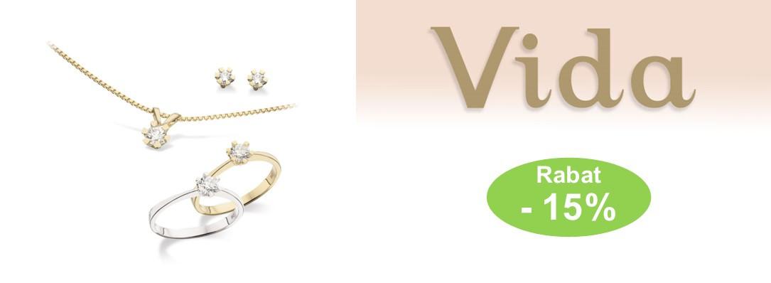 15% rabat på Vida smykker