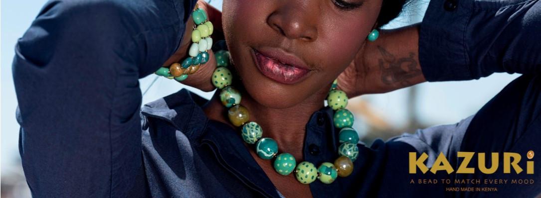 Smukke og farverige kæder fra Kazuri - Stort udvalg - gratis fragt og hurtig levering